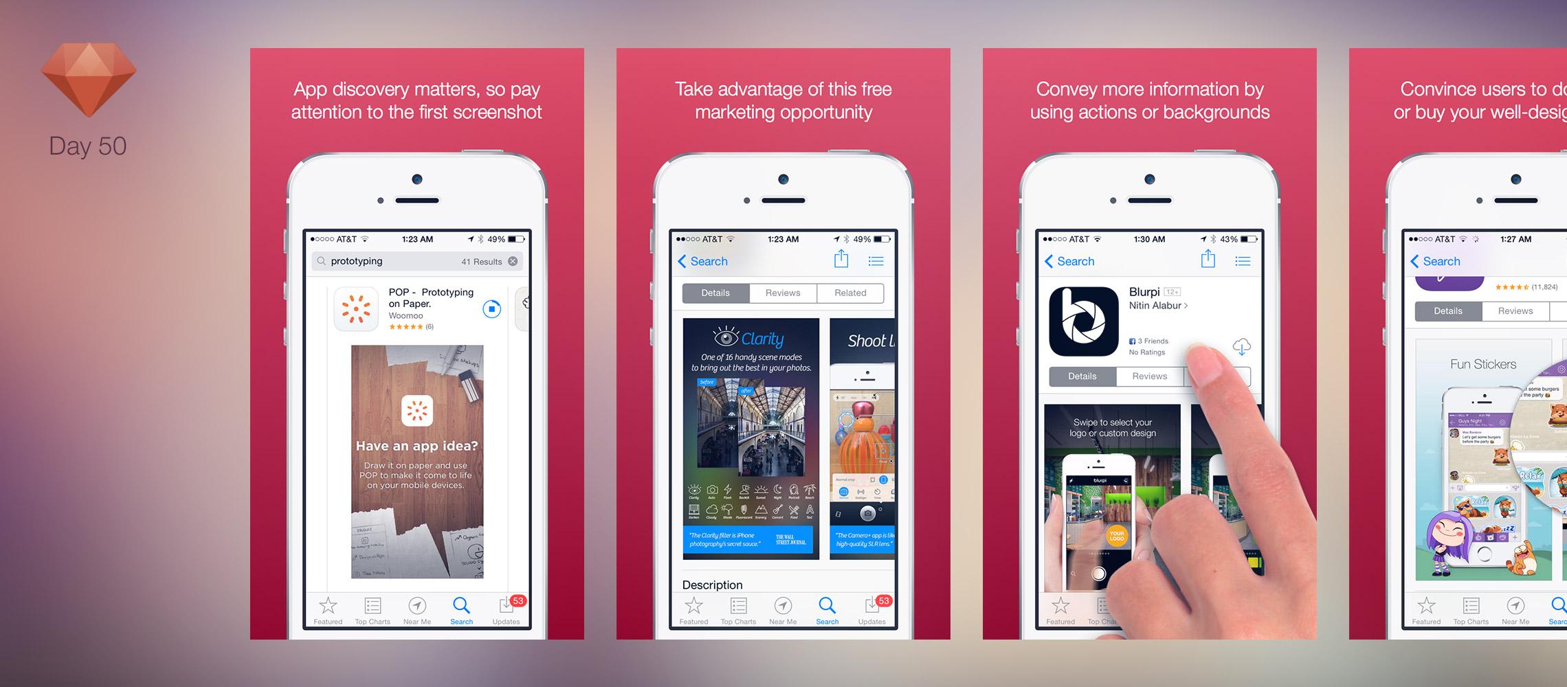C mo dise ar screenshots que nos ayuden a conseguir m s - App para disenar ...