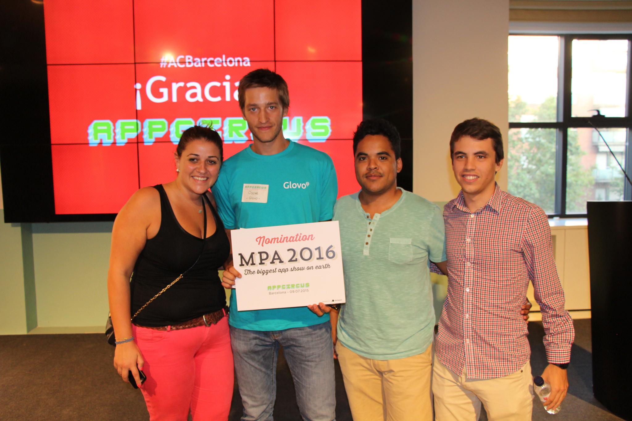 Appcircus Barcelona  Ganador 2015