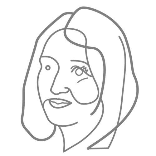 Katerina Zolotareva caricatura