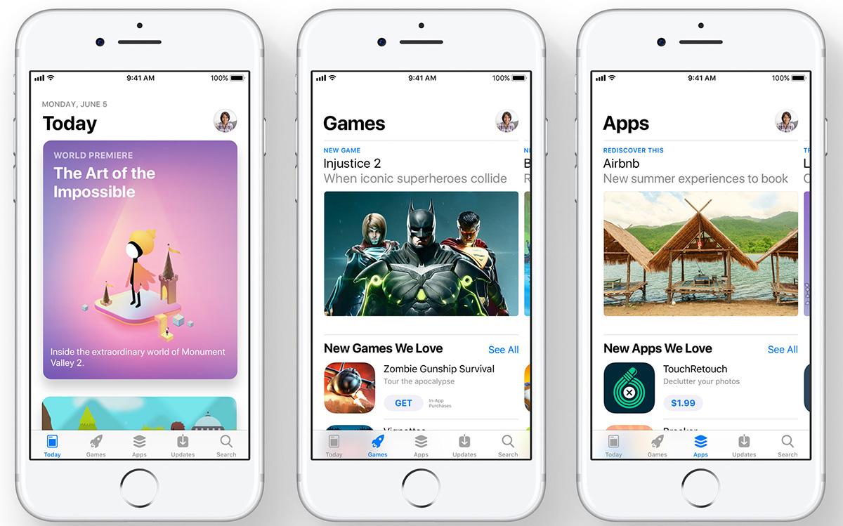 ASO App Store 2.0 WWDC2017 Apple