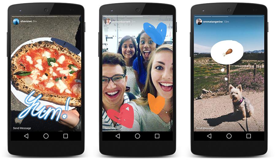 Instagram Stories Ads para descargas