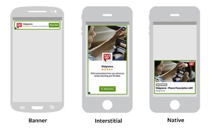Interstitial Advert Banner Native App Marketing