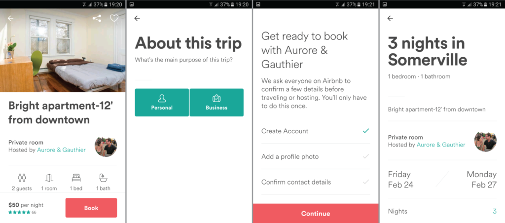 Airbnb-screenshot-booking