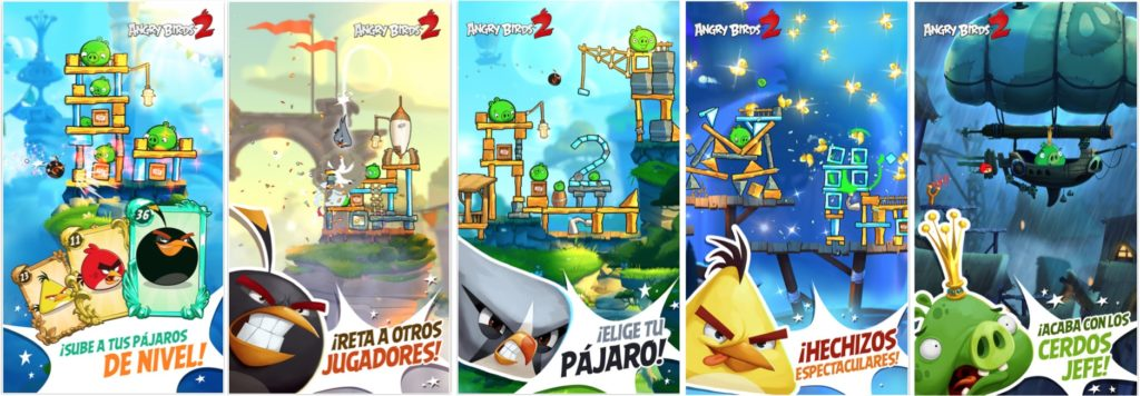 Angry Birds 2 App iOS Screenshot