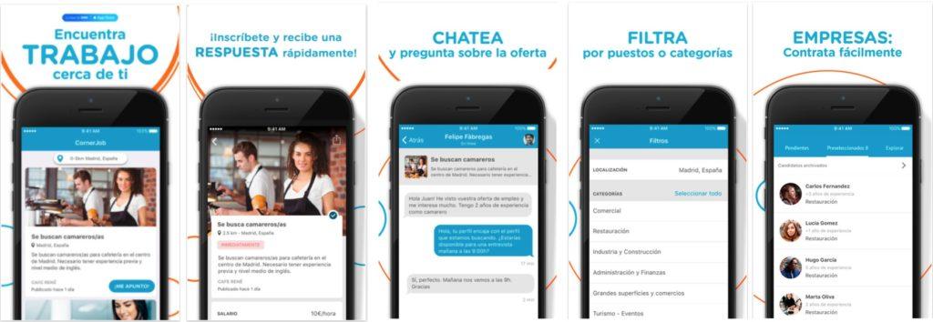Corner Job Screenshots iOS
