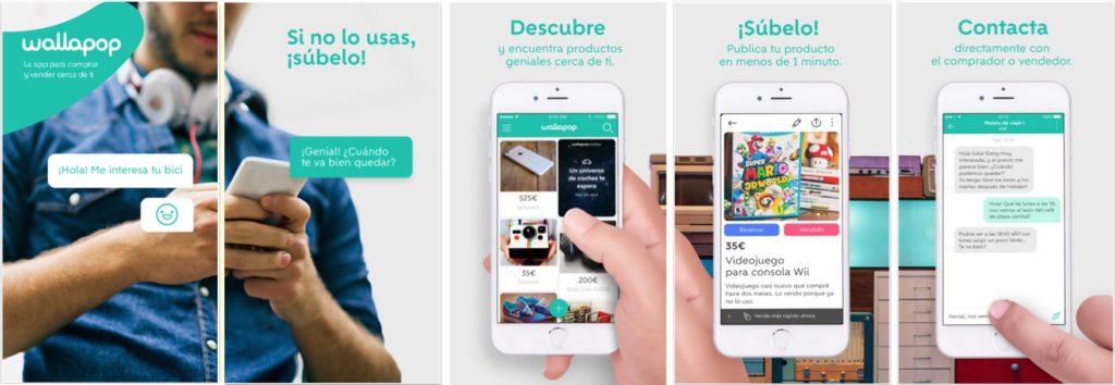 Wallapop iOS Screenshoot