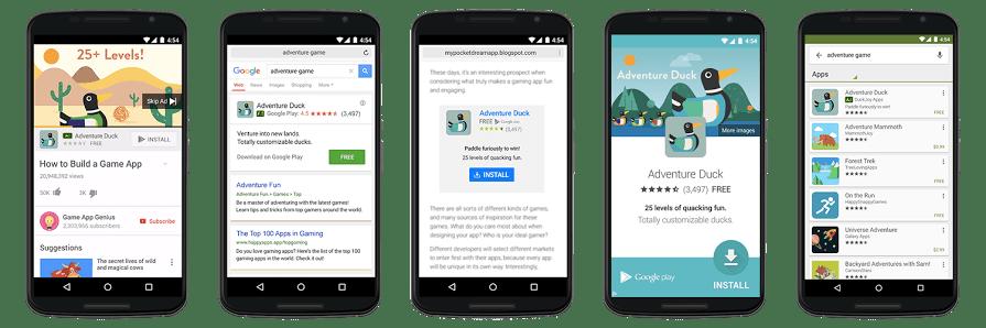 Google Universal App Campaigns (UAC)