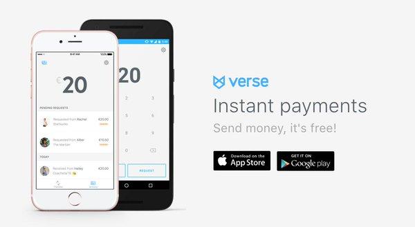 verse app transferir dinero