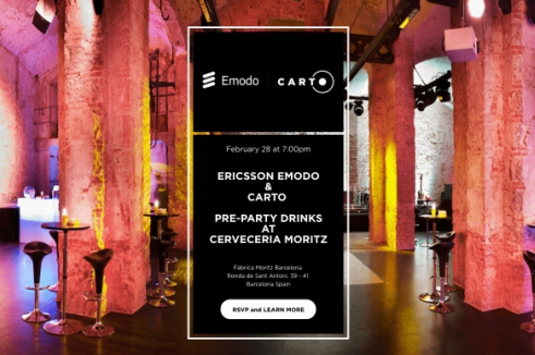 Ericsson Emodo Carto PTR - Party Drinks