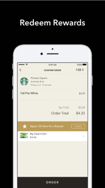 Starbucks Rewards Gamification App