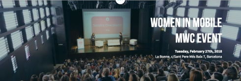 Women in Mobile MWC 2018 Event