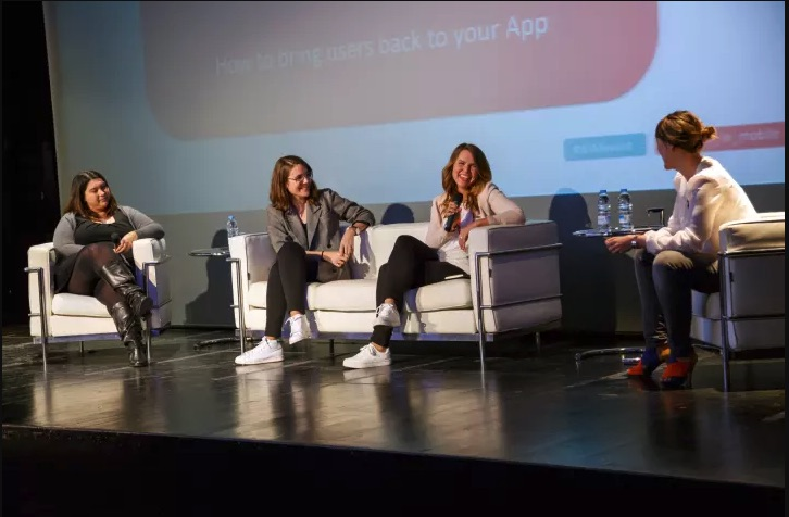 Women in Mobile Speakers MWC 2018