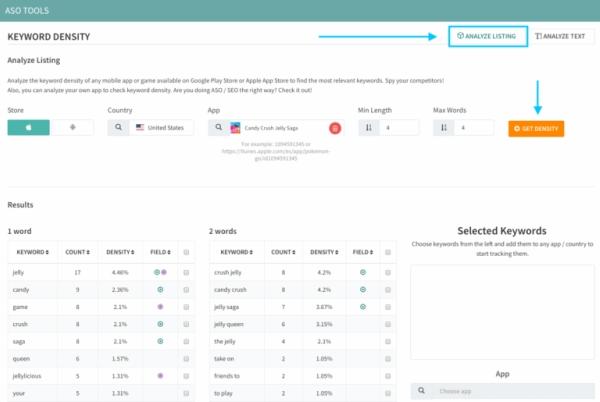 TheTool keyword density apps