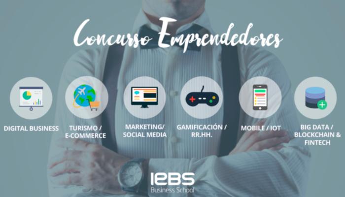 IEBS Nueva convocatoria del concurso emprendedores 2018