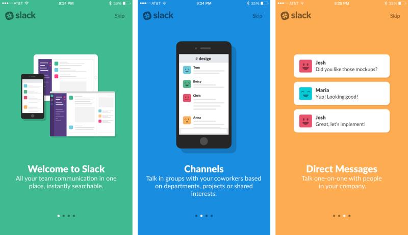 slack app user onboarding