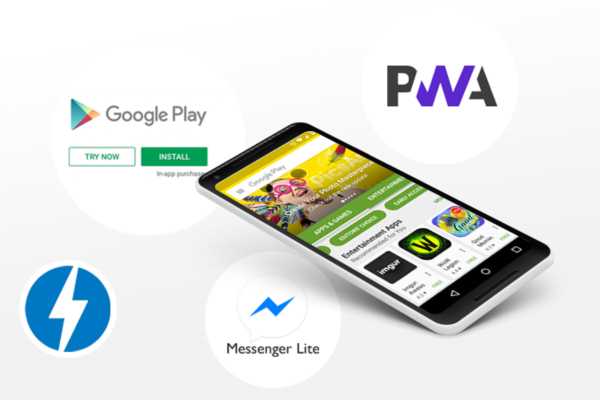 Progressive Web Apps Instant Apps Google AMP Lite Apps