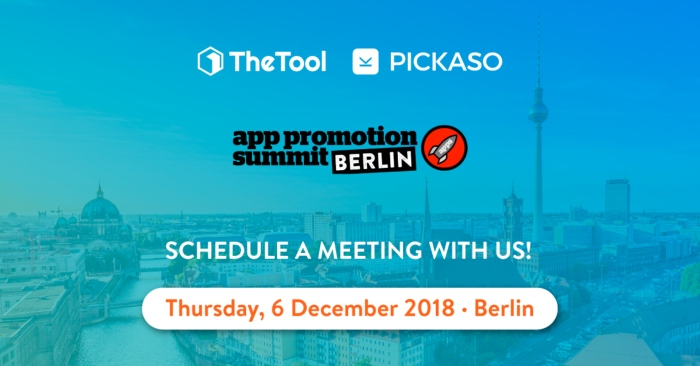 thetool pickaso app promotion summit berlin 2018