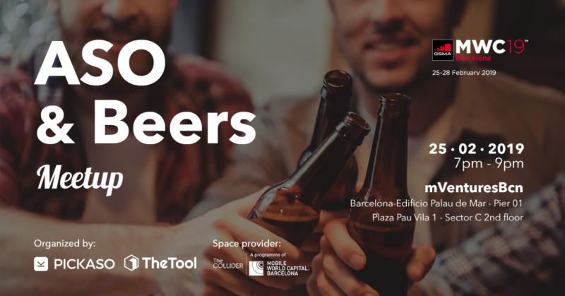 ASO and beers Meetup pickaso y thetool