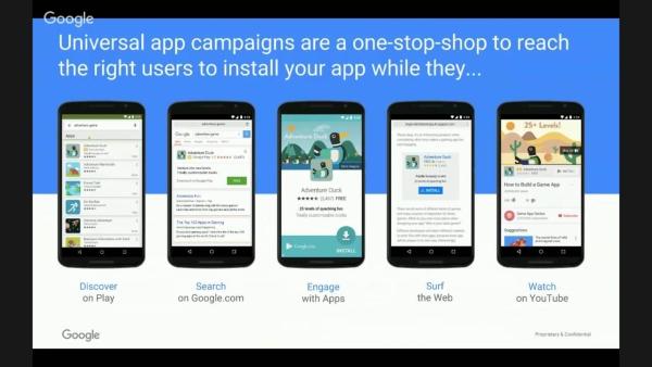 Google Universal Campaigns