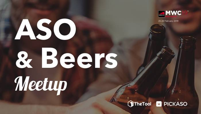 MeetUp ASO and Beers MWC19 700X400