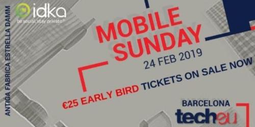 Mobile Sunday 2019