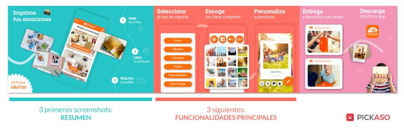 Photosi Screenshots Mensajes Claros App