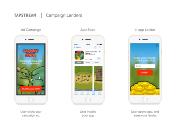 Tapstream Campaign Landers