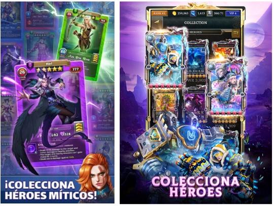 Colecciona Heroes App Games