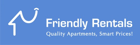 Friendly rentals logo