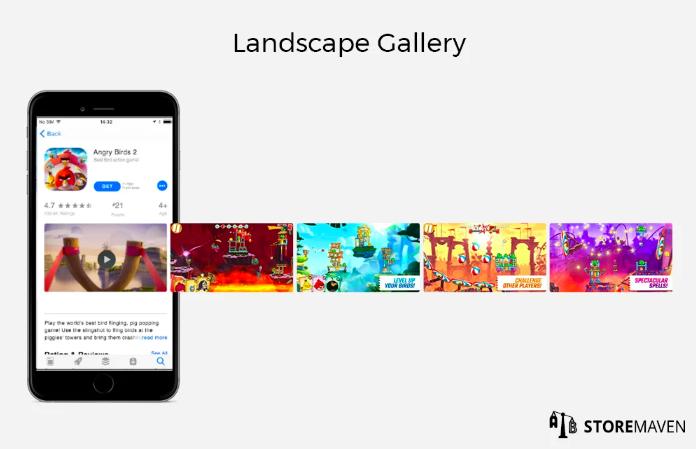 Landscape gallery apple app store