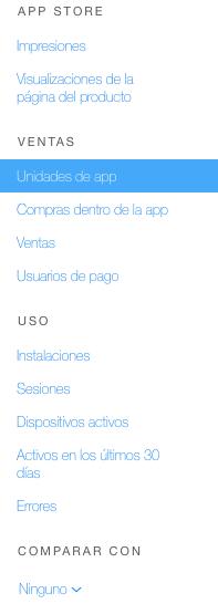 App Store ventas consola