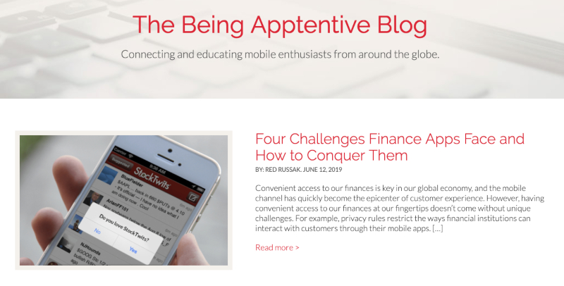 AppTentive Blog
