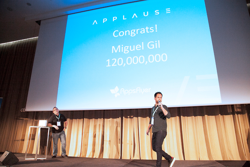 AppsFlyer Challange winner applause 2019