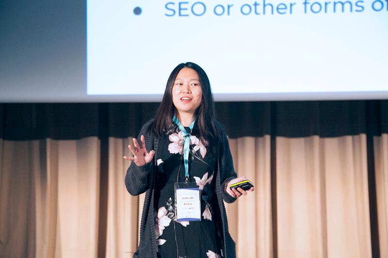 Sandra Wu Blinkist