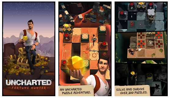 Uncharted Fortune Hunter game